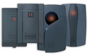 HID Card Readers used with RS2 access control systems