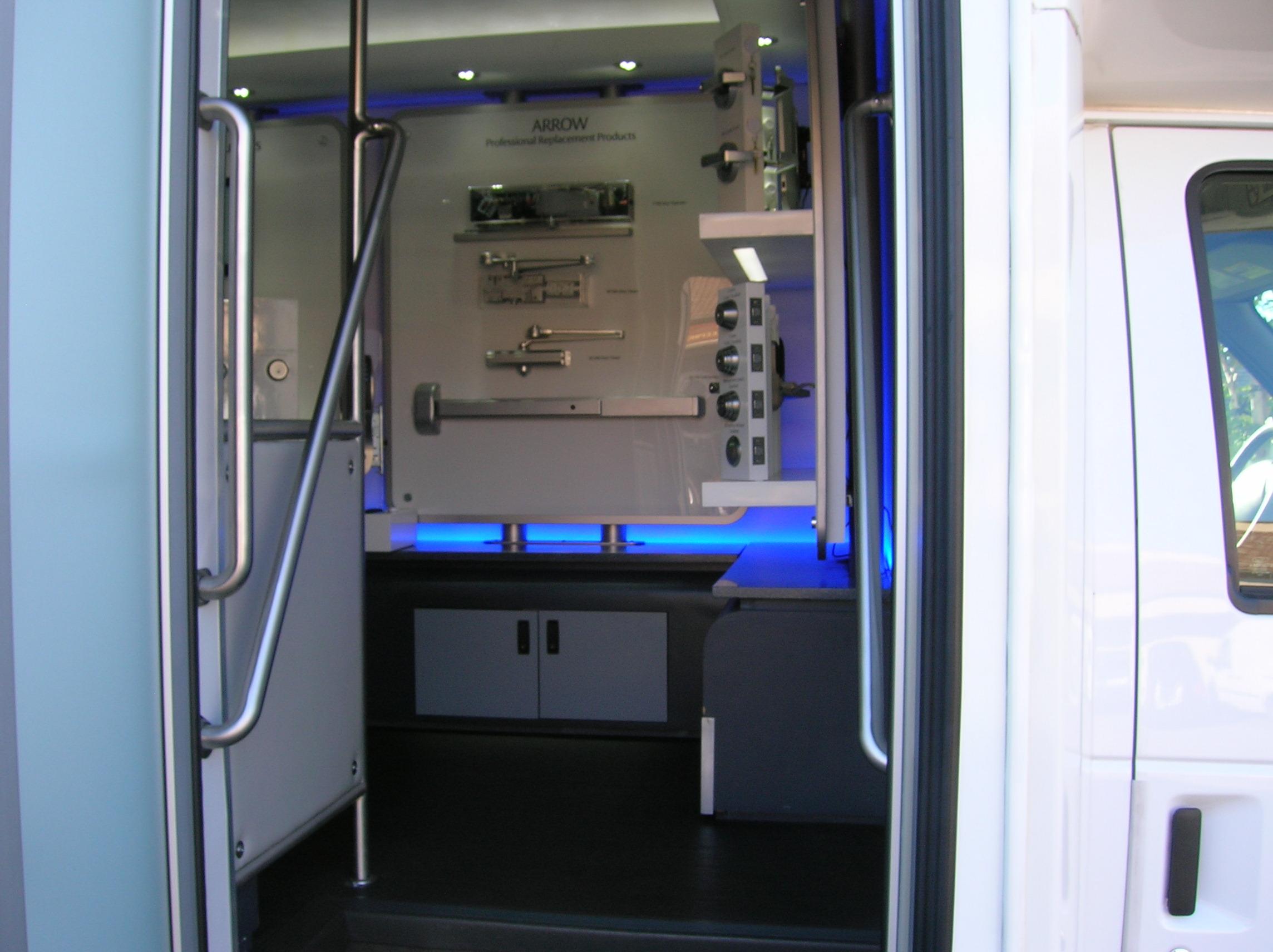 assa abloy mobile showroom professional lock safe. Black Bedroom Furniture Sets. Home Design Ideas